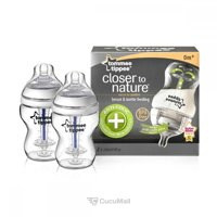 Baby feeding products TOMMEE TIPPEE Антиколиковые бутылочки для кормления 260 мл. (42252571)